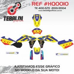 Husqvarna TE 400-570 2001-2004