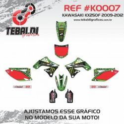 Kawasaki KX250F 2009-2012