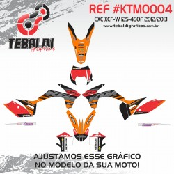 KTM EXC XCF-W 125-450 2012-2013