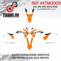 KTM EXC 125-450 2014-2016