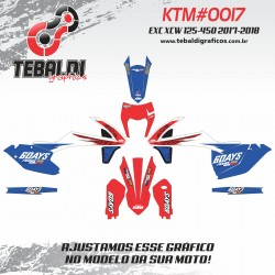 KTM EXC XCW 125-500 2017-2018 SIX DAYS FRANCE