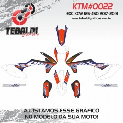KTM EXC XCW 125-500 2017-2019 SIX DAYS CHILE