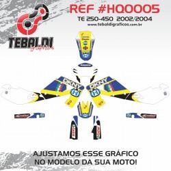 Husqvarna TE 250-450 2002-2004