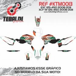 KTM EXC XCFW 125-450 2008-2011 SIX DAYS MÉXICO