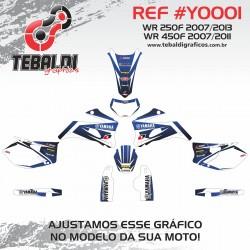 Yamaha WR 250F 2007-2013 - WR 450F 2007-2011