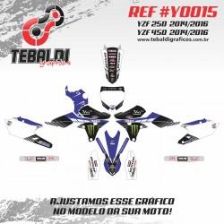 Yamaha YZF 250 2014-2016 - Yamaha YZF 450 2014-2016