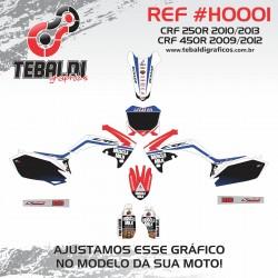Honda CRF250R 2010-2013 / CRF450R 2009-2012