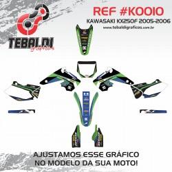 Kawasaki KX250F 2005-2006