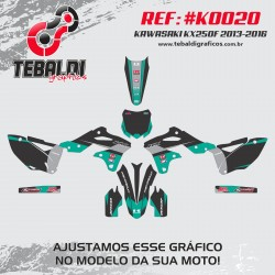 Kawasaki KX250F 2013-2016