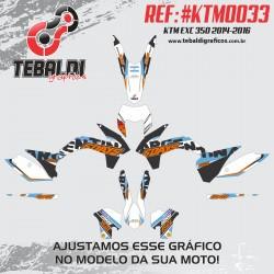 KTM EXC 125-450 2014-2016 SIX DAYS ARGENTINA
